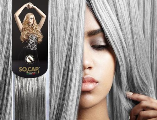 Neuer Haarfarbentrend, Grau, Silver Extensions